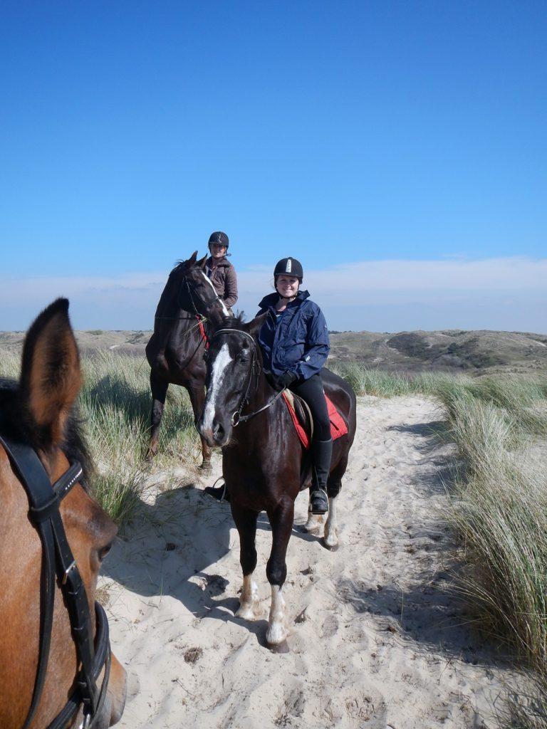 Paardrijden strand en duinen, Egmond aan den Hoef