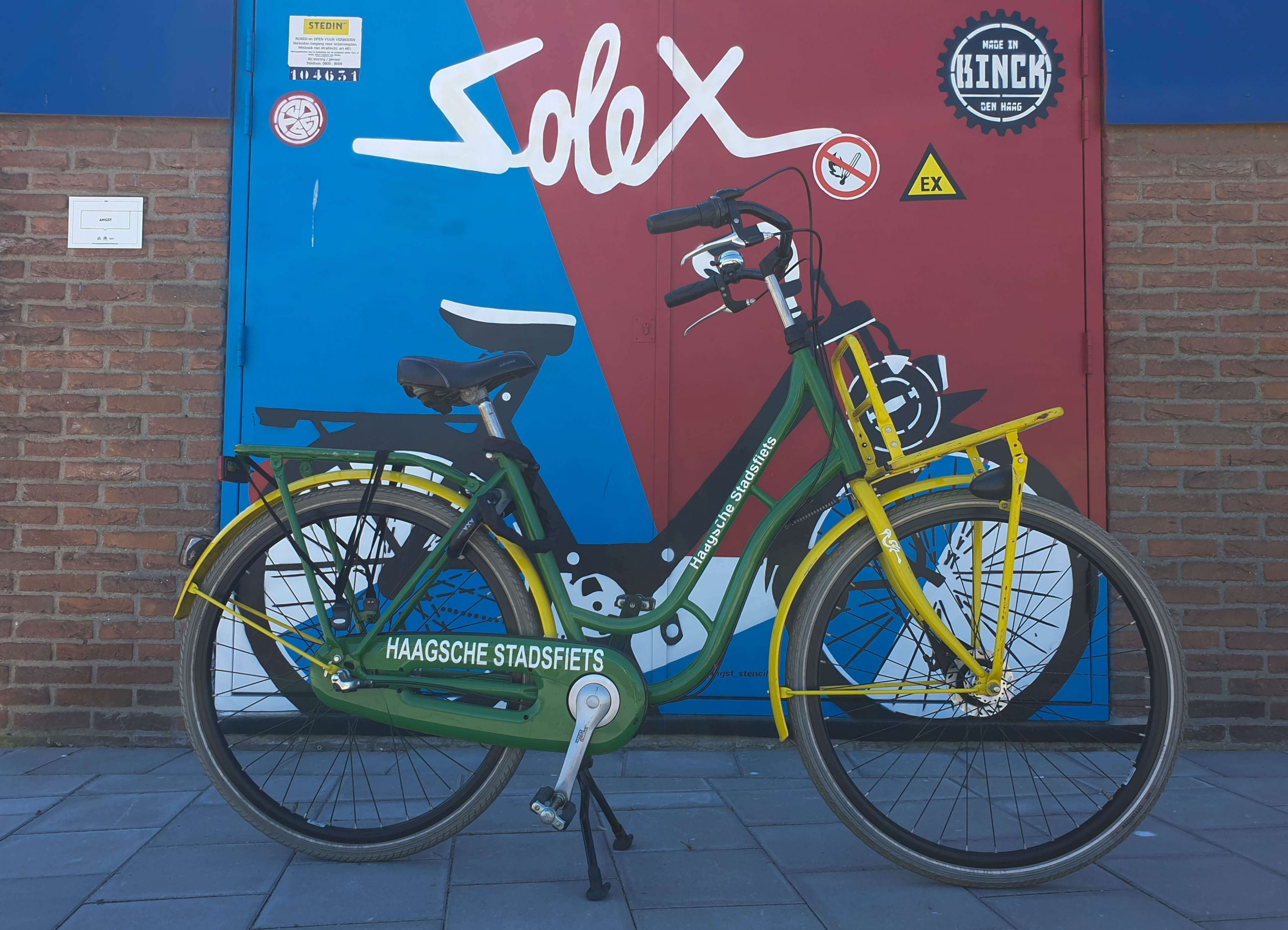 Street Art Route fietsen