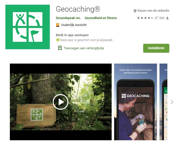Geocaching Den Haag