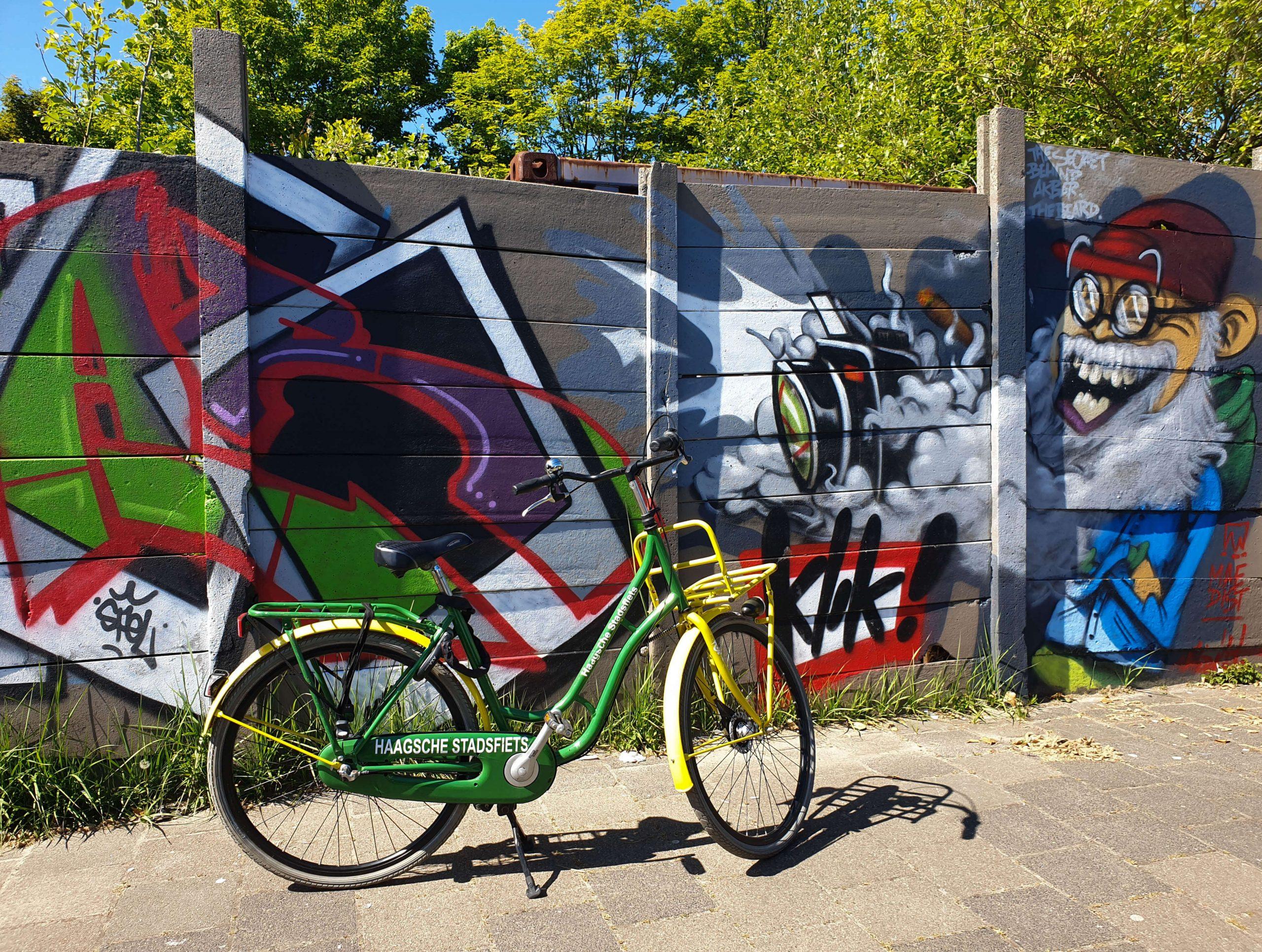 Street Art Route in Den Haag