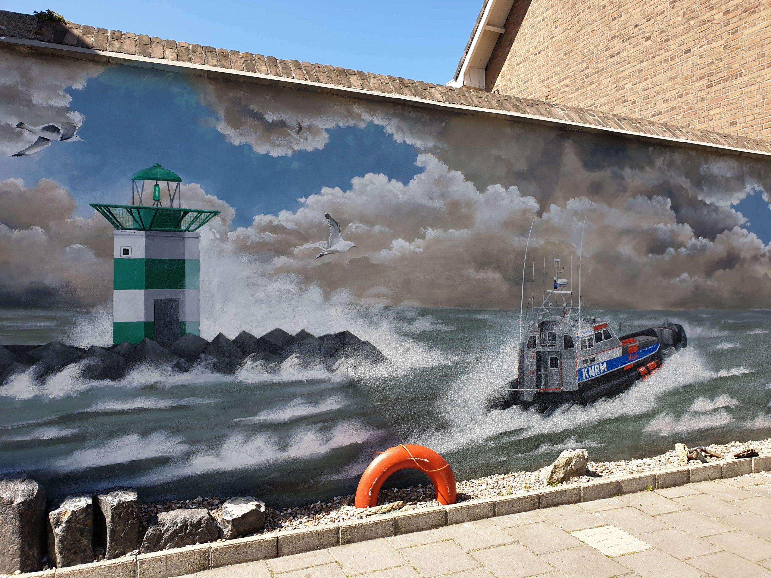 Graffiti Scheveningen