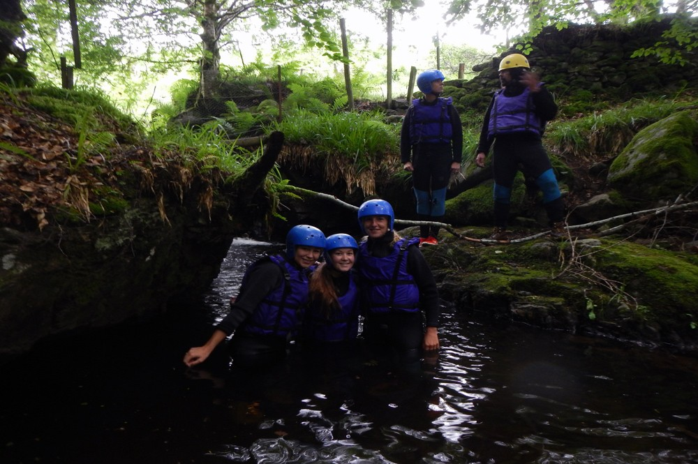 Canyoning avontuur Schotland