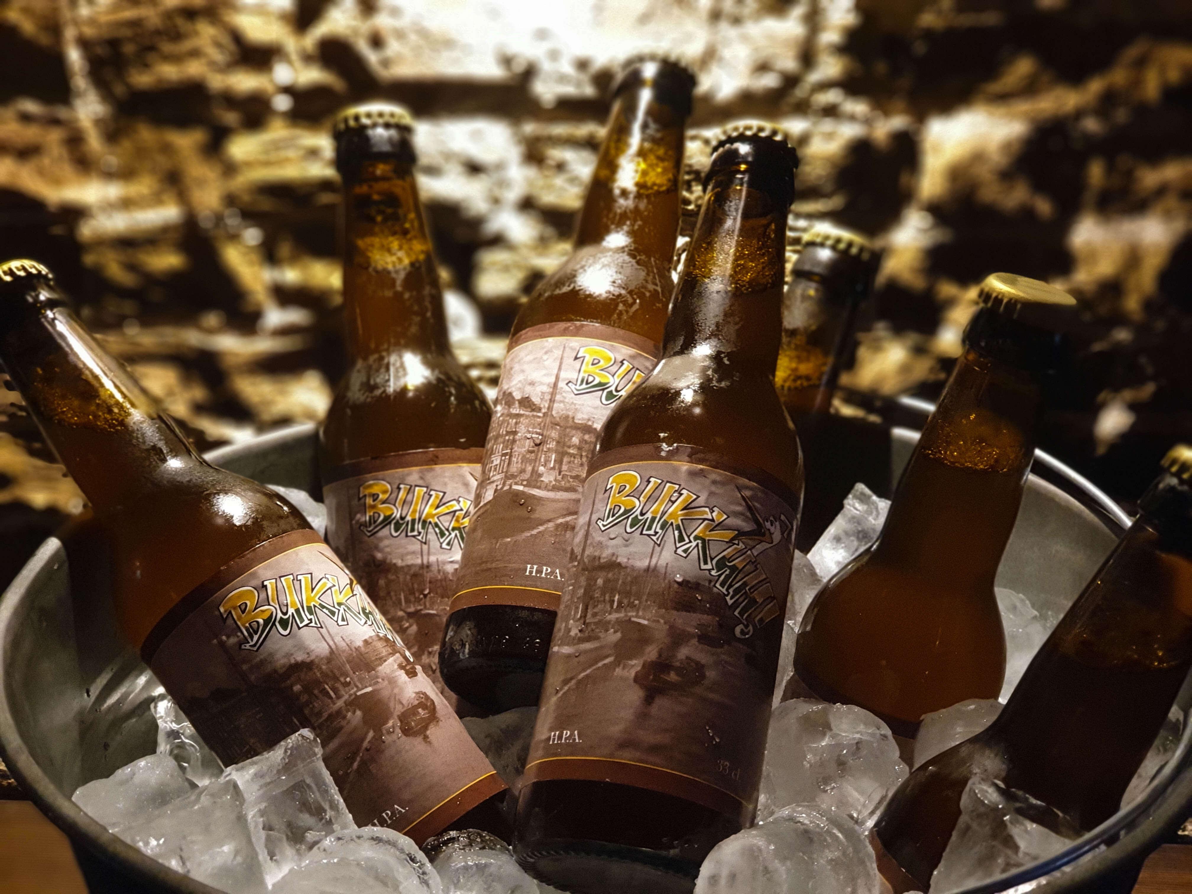 Bukkûh bier tijdens de biervaart