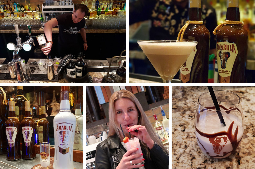 Cocktails proeven bijHard Rock Café Amsterdam