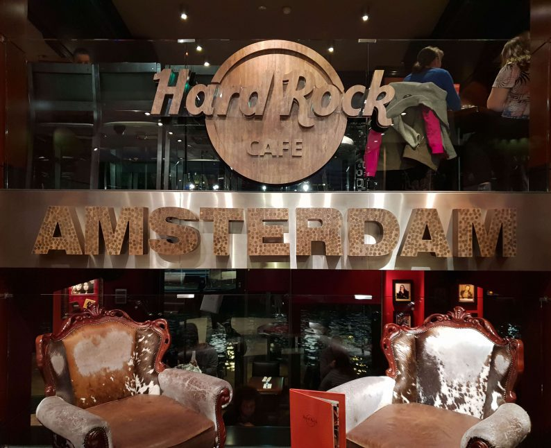 Hard Rock Café in Amsterdam