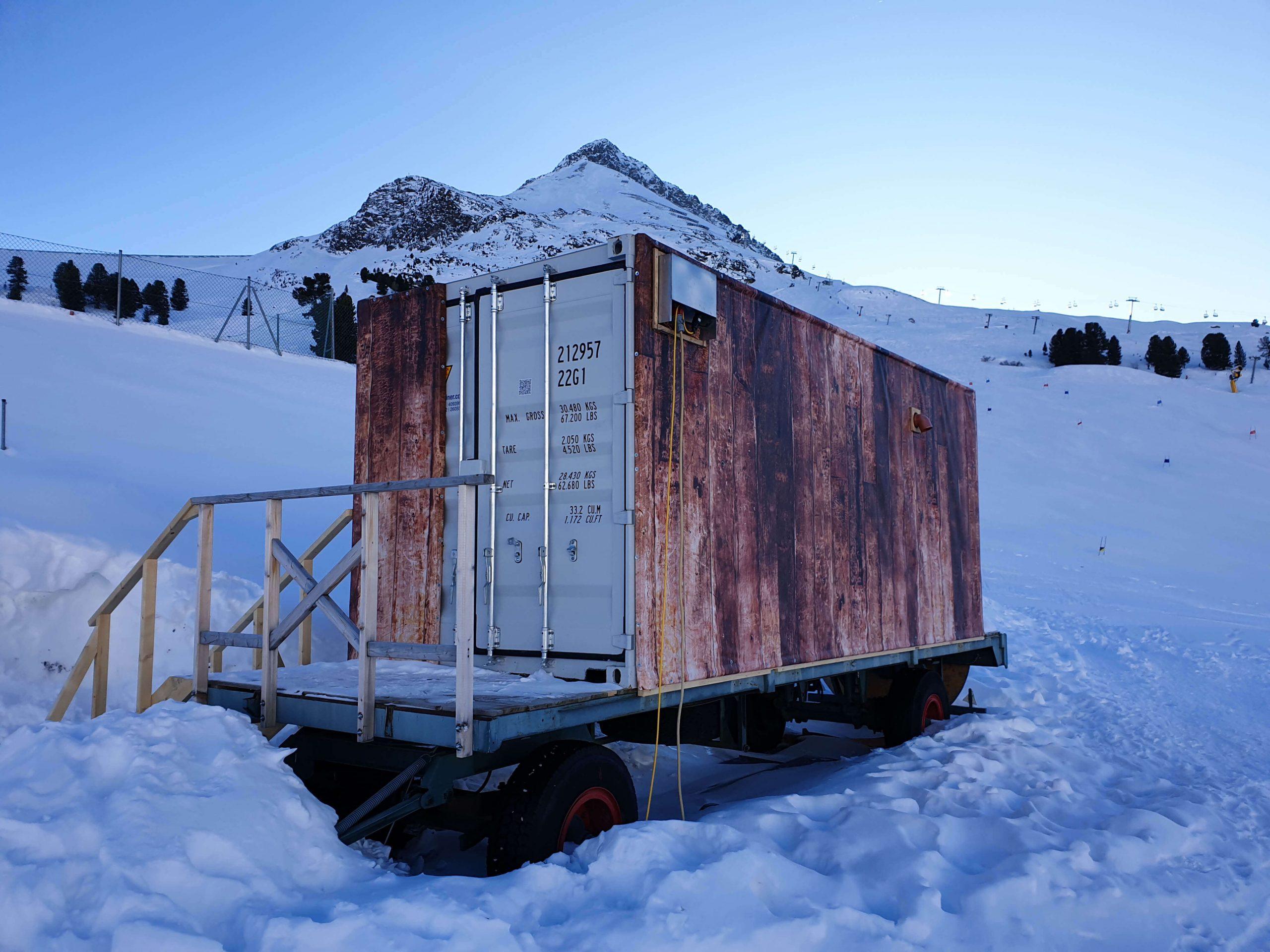 Sauna in wintersport
