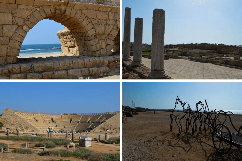 Opgravingen Caesarea