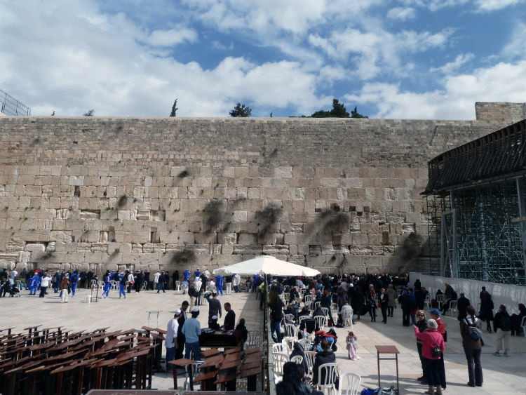 Klaagmuur - Jeruzalem - Israël