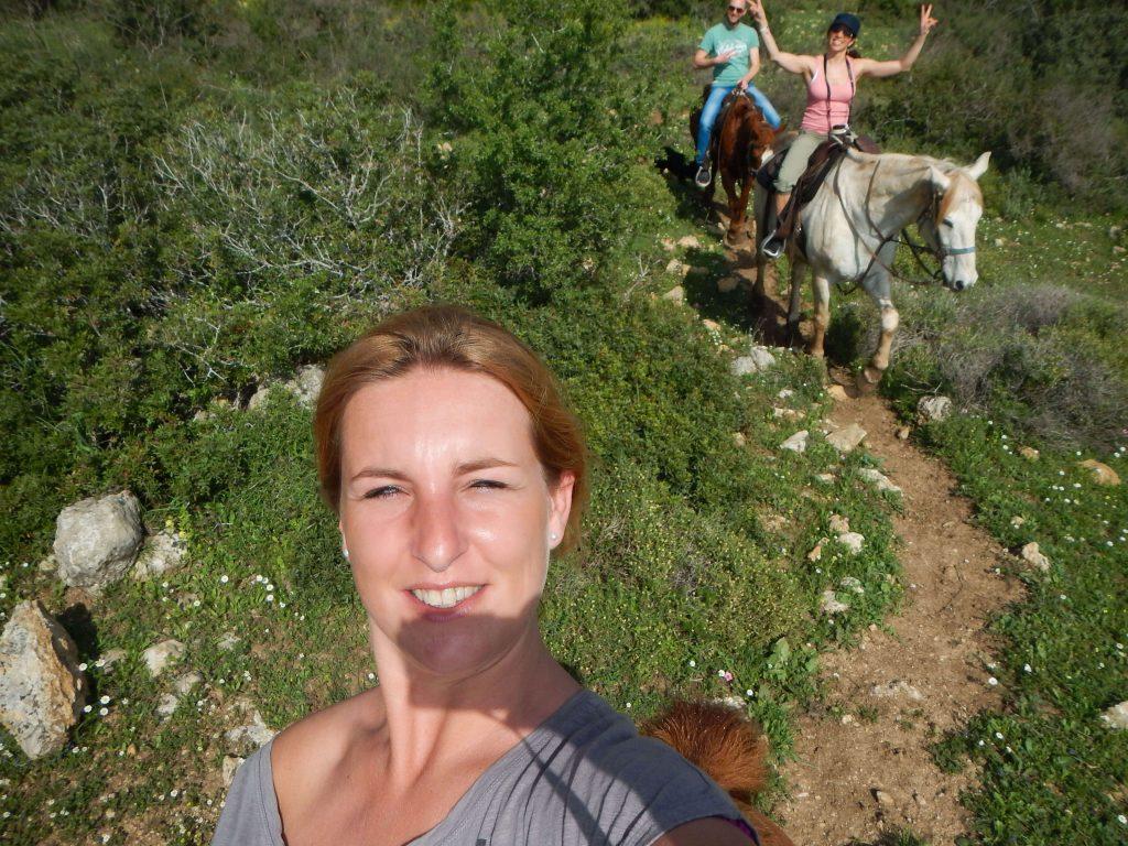 Paardrijvakantie Israël