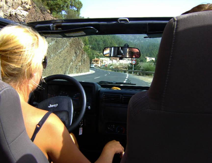 Ervaring autorijden Tenerife