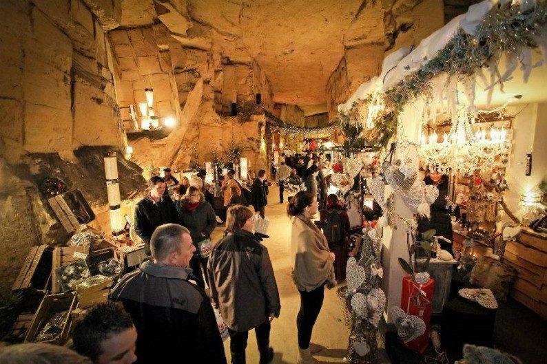Kerstmarkt in Valkenburg