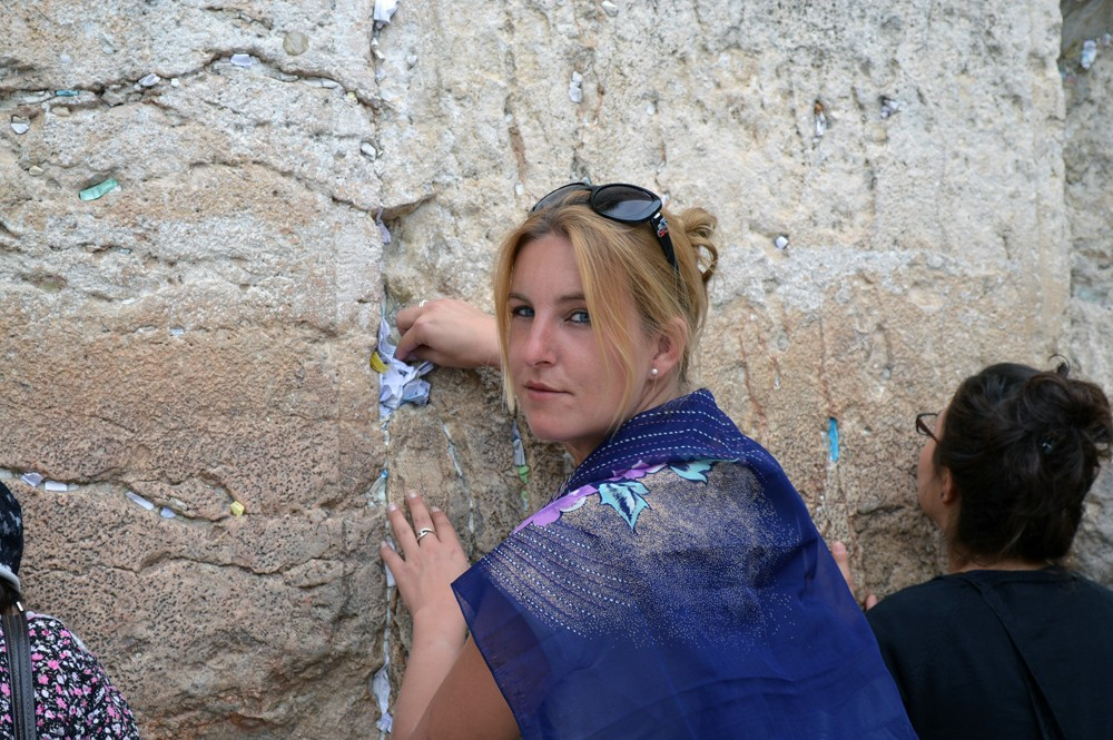 Klaagmuur - Jeruzalem Israël