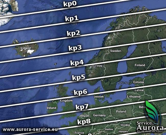 Gebruik deze apps voor noorderlicht in IJsland