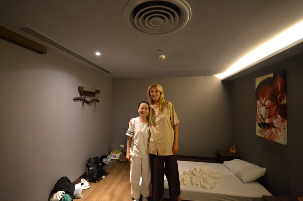 Mijn Thaise masseuse