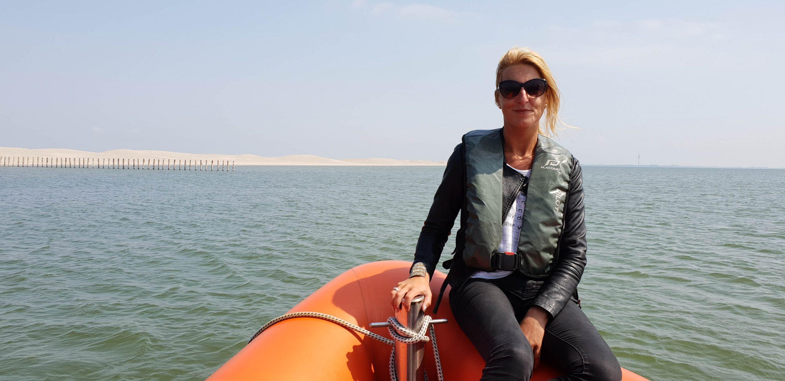Met boot naar Marker Wadden