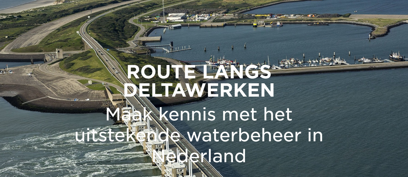 Mooie autoroute 'Langs de Deltawerken'