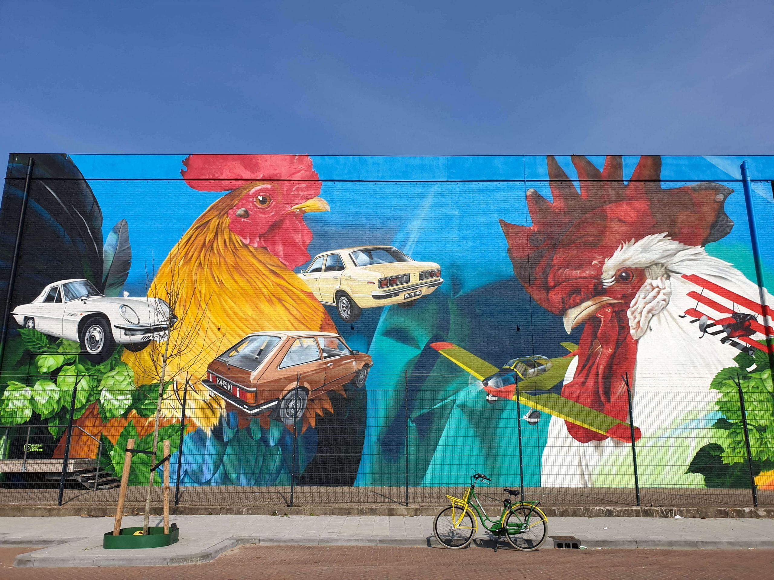 Street Art route Den Haag