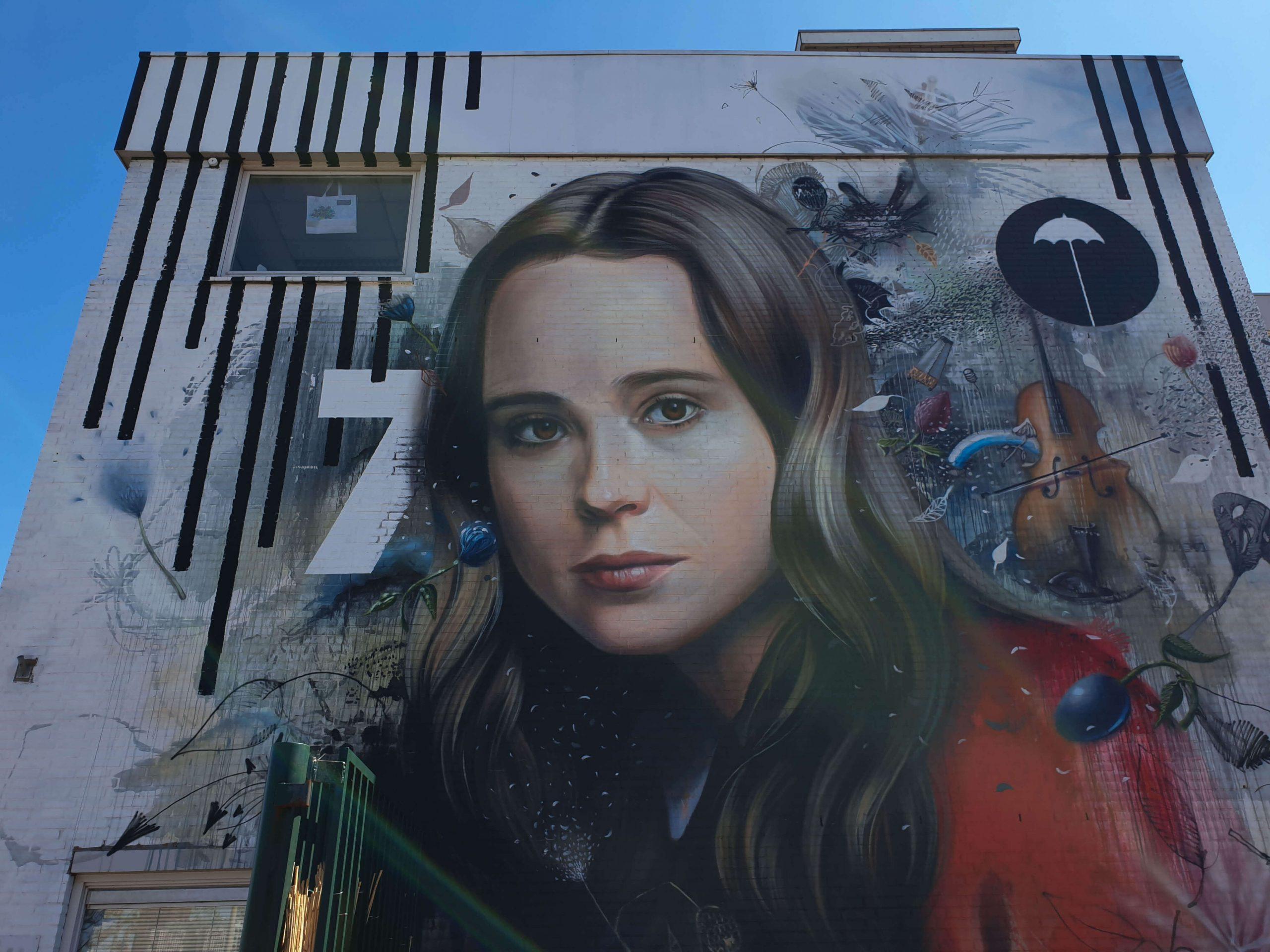 Street Art Anna's Base