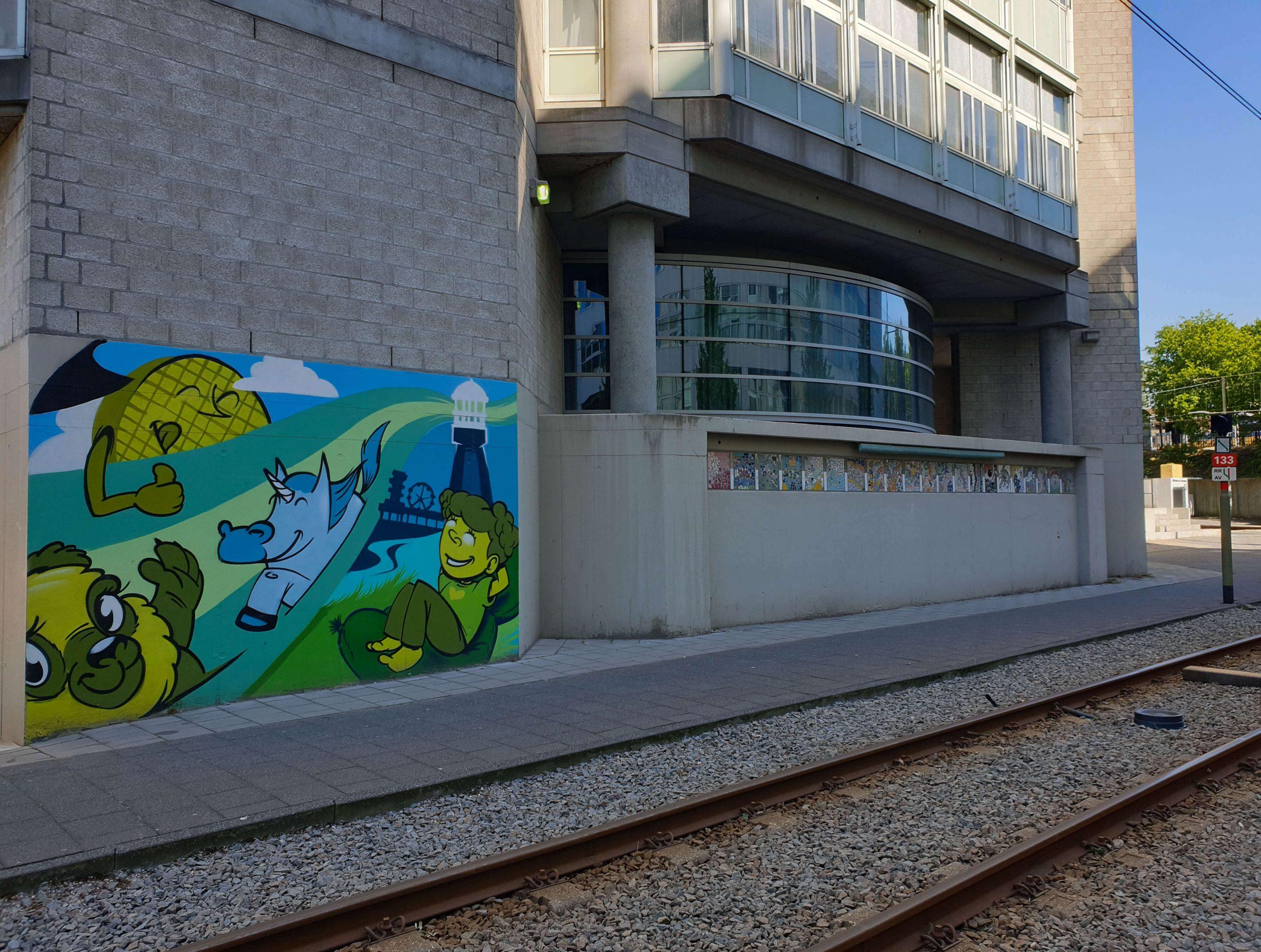 Street Art Den Haag Station Laan van NOI
