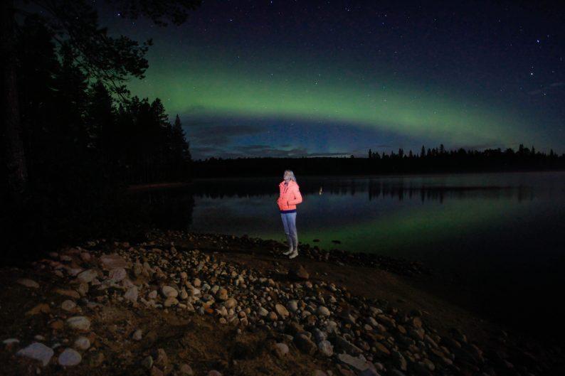 Wanneer Noorderlicht zien in Fins Lapland