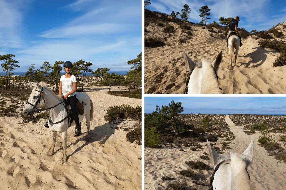 Paardrijden in Portugal