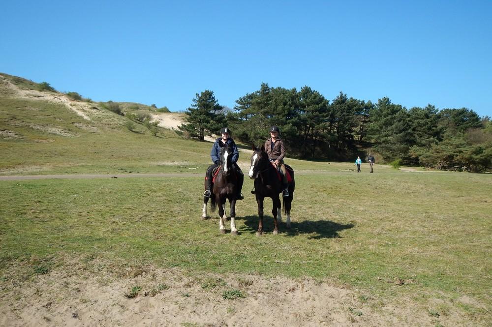 Paardrijden - duinen Egmond aan den Hoef