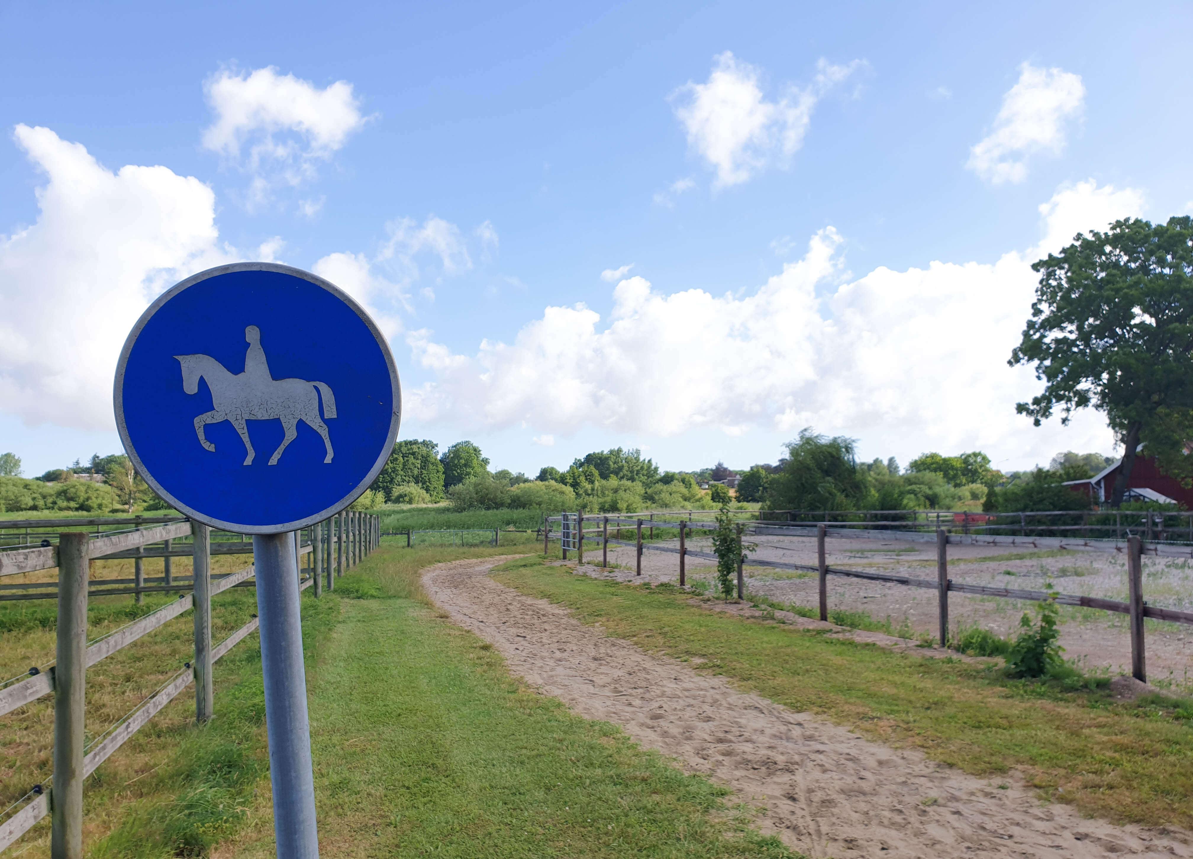 Paardrijden in Zuid Zweden, Skåne