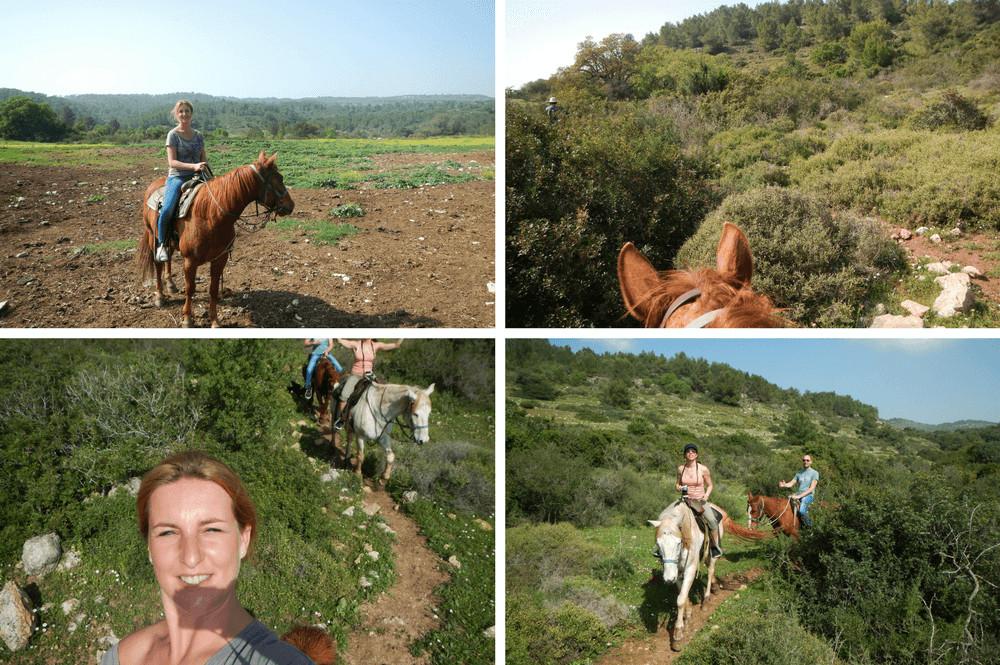 Paardrijden Israël