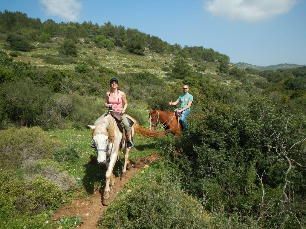 Paardrijden in Israël