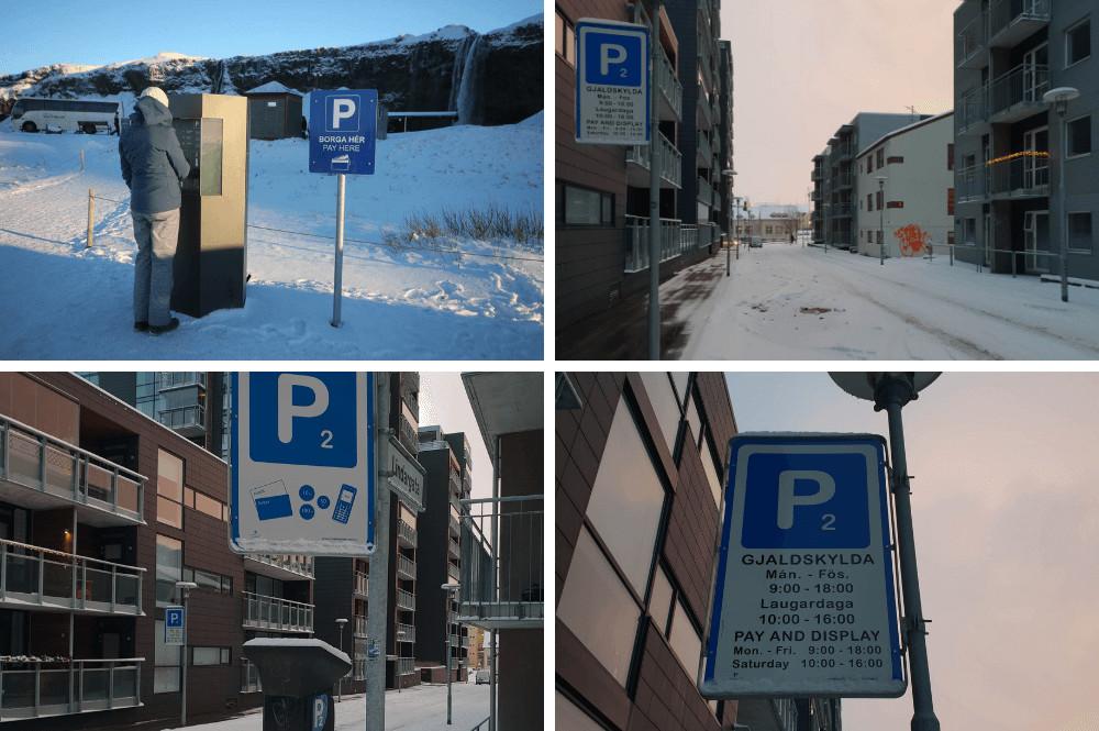 Parkeren in IJsland