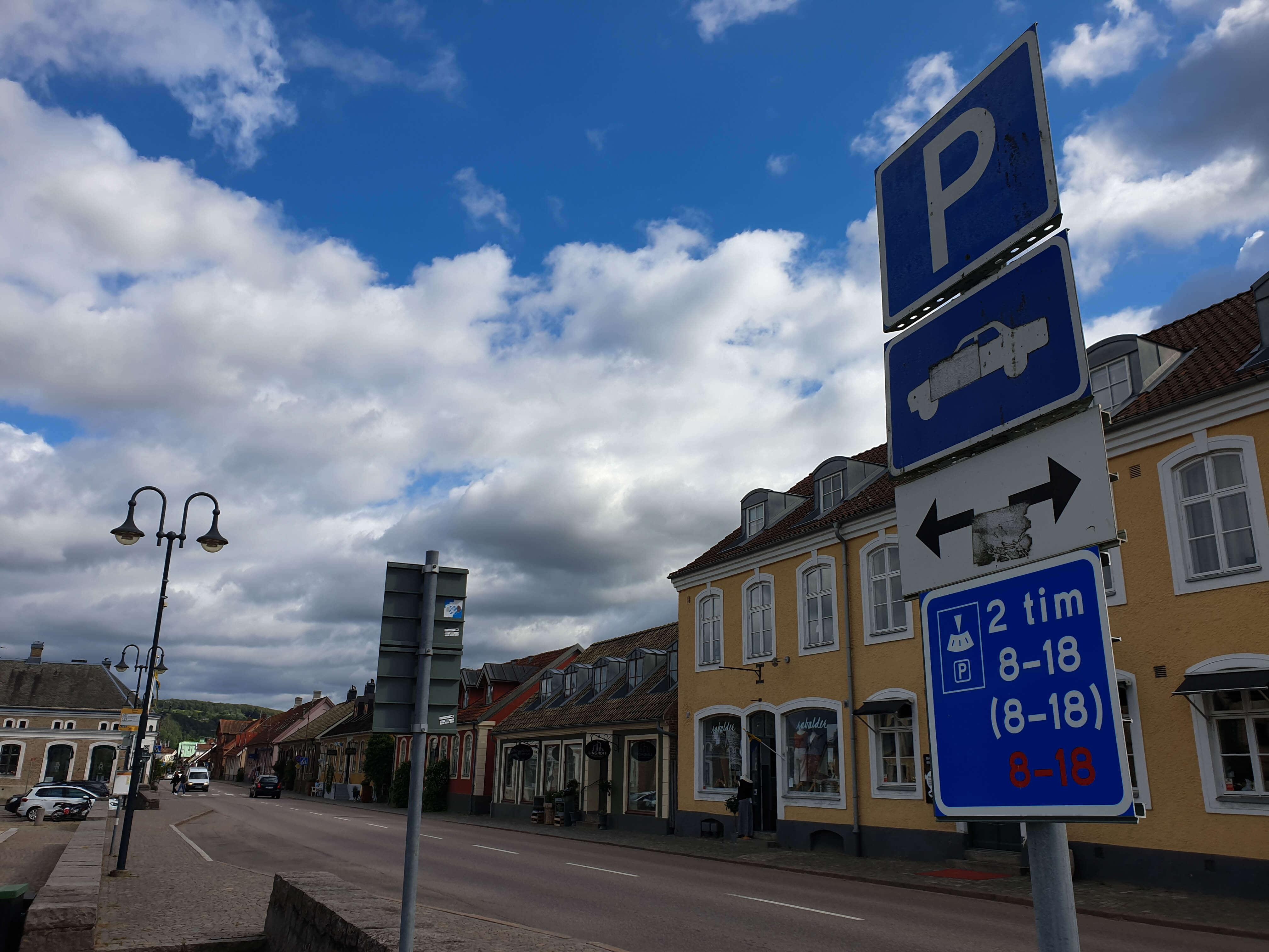 Parkeren in Zweden