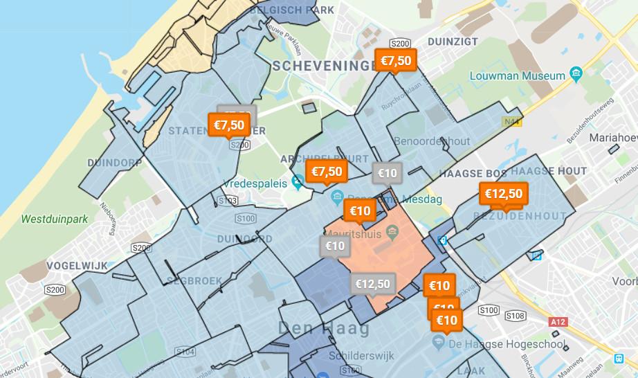 Goedkoop parkeren in Den Haag