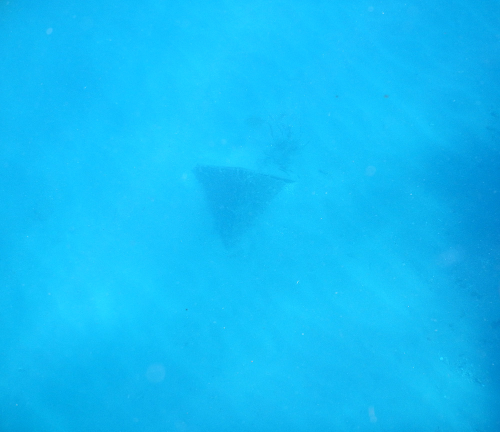 Piramide onder water