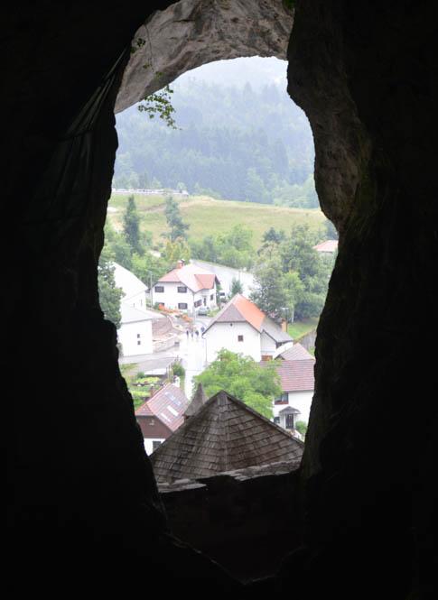 Uitzicht vanuit het kasteel