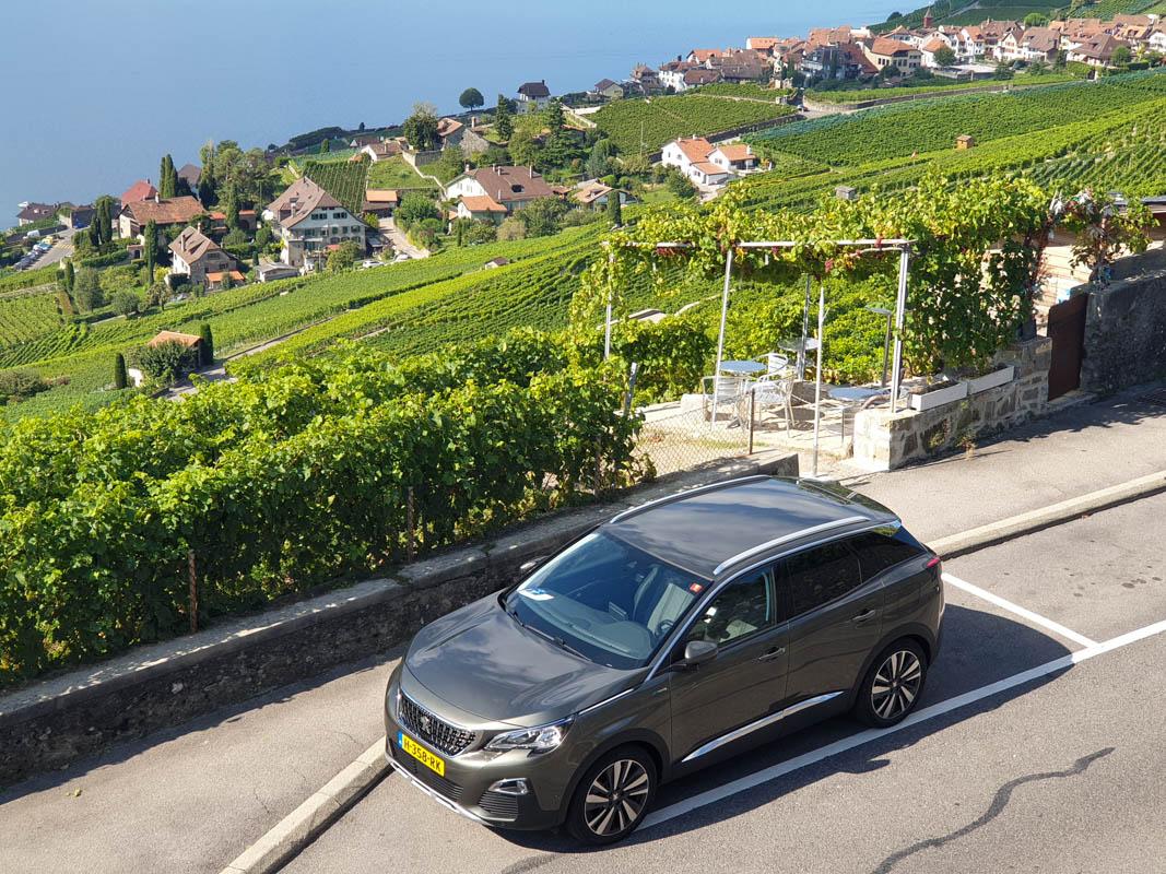 Roadtrip met elektrische auto