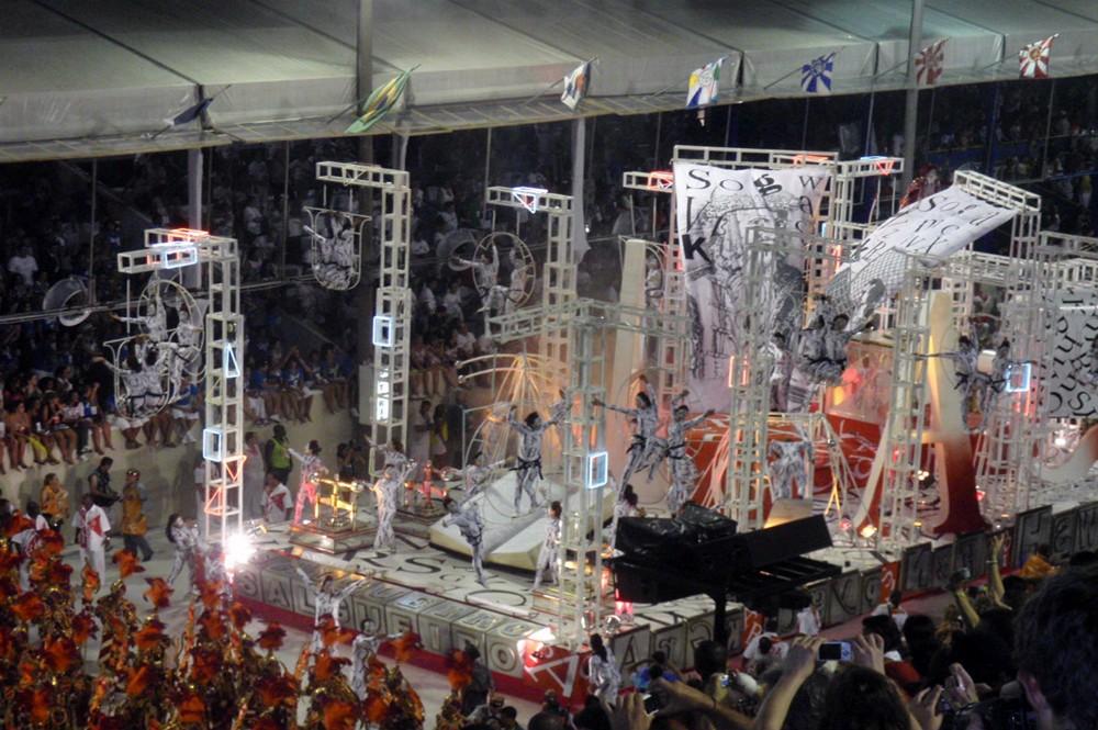 Sambodromo - Carnaval - Rio de Janeiro