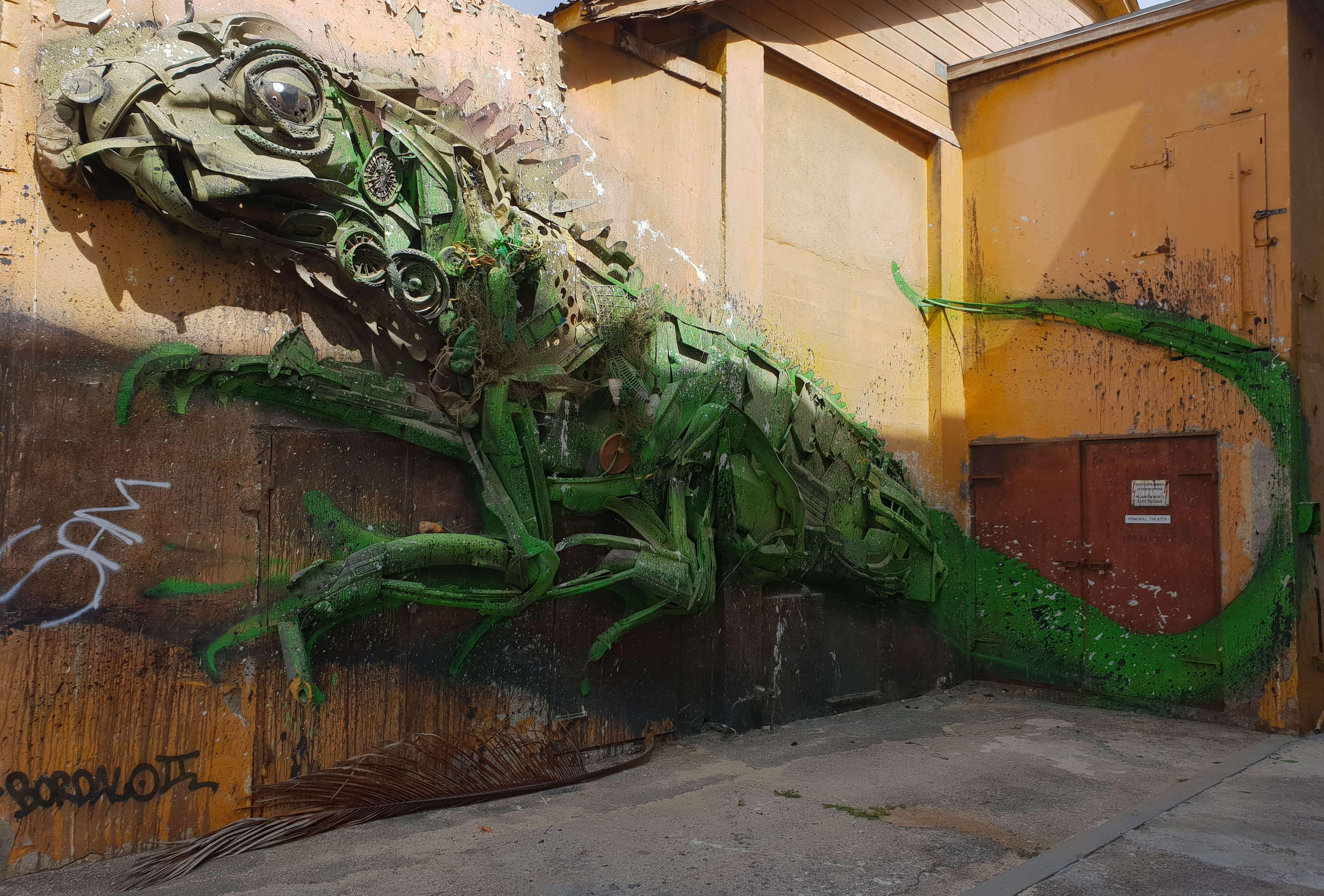Bezienswaardigheden op Aruba Street Art