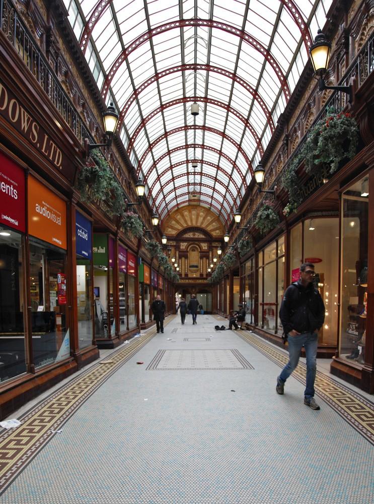 Central Arcade, shoppen Newcastle