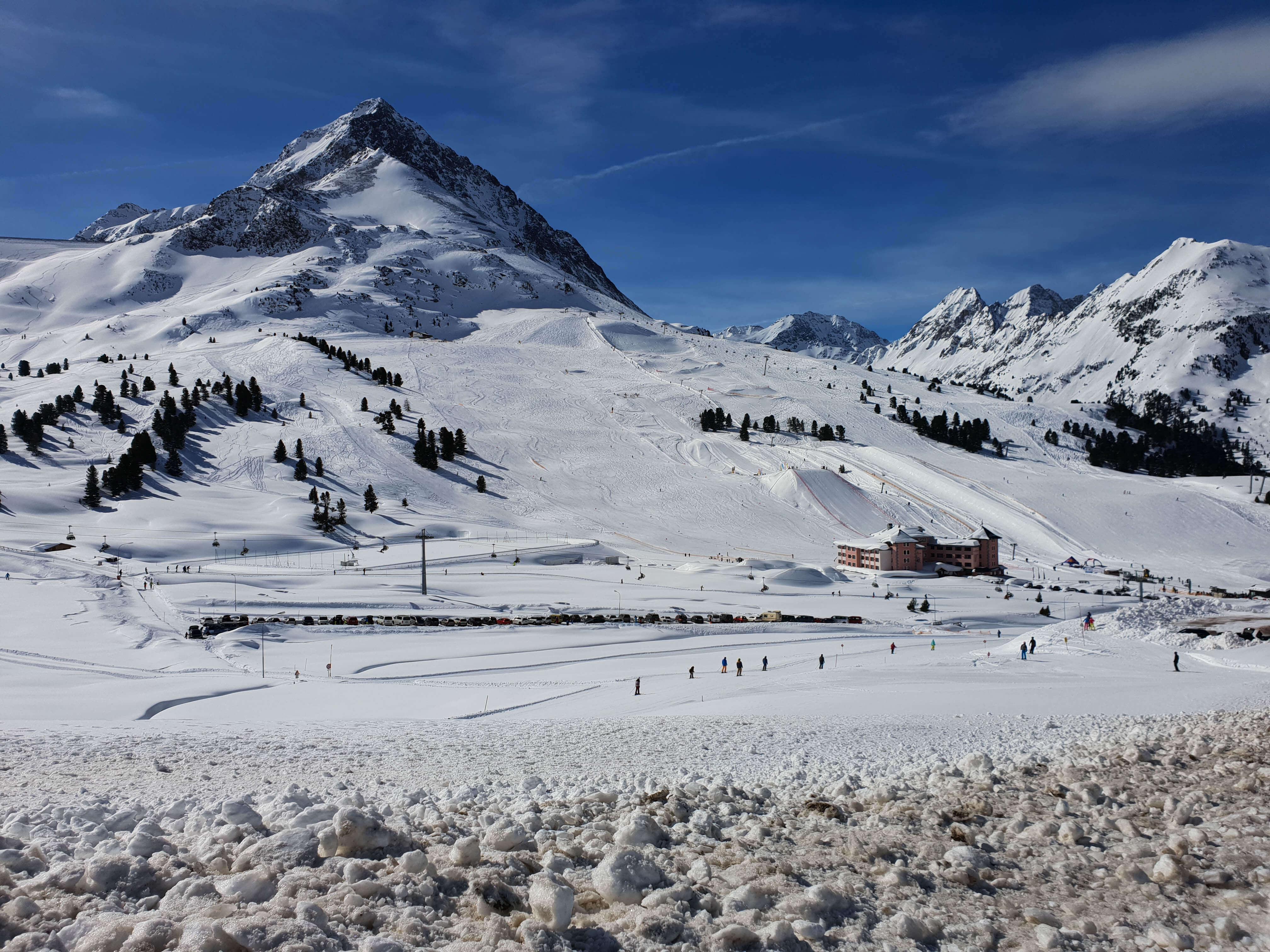 Skigebied Kühtai