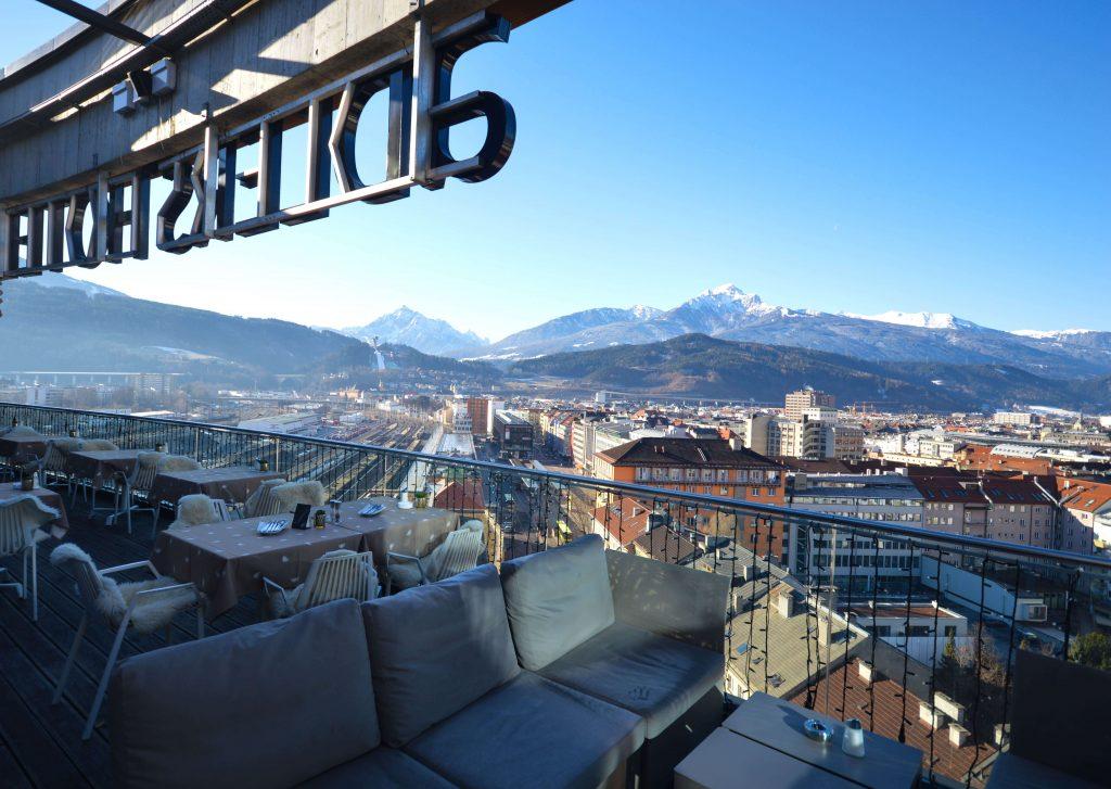 Skybar DLERS Hotel Innsbruck