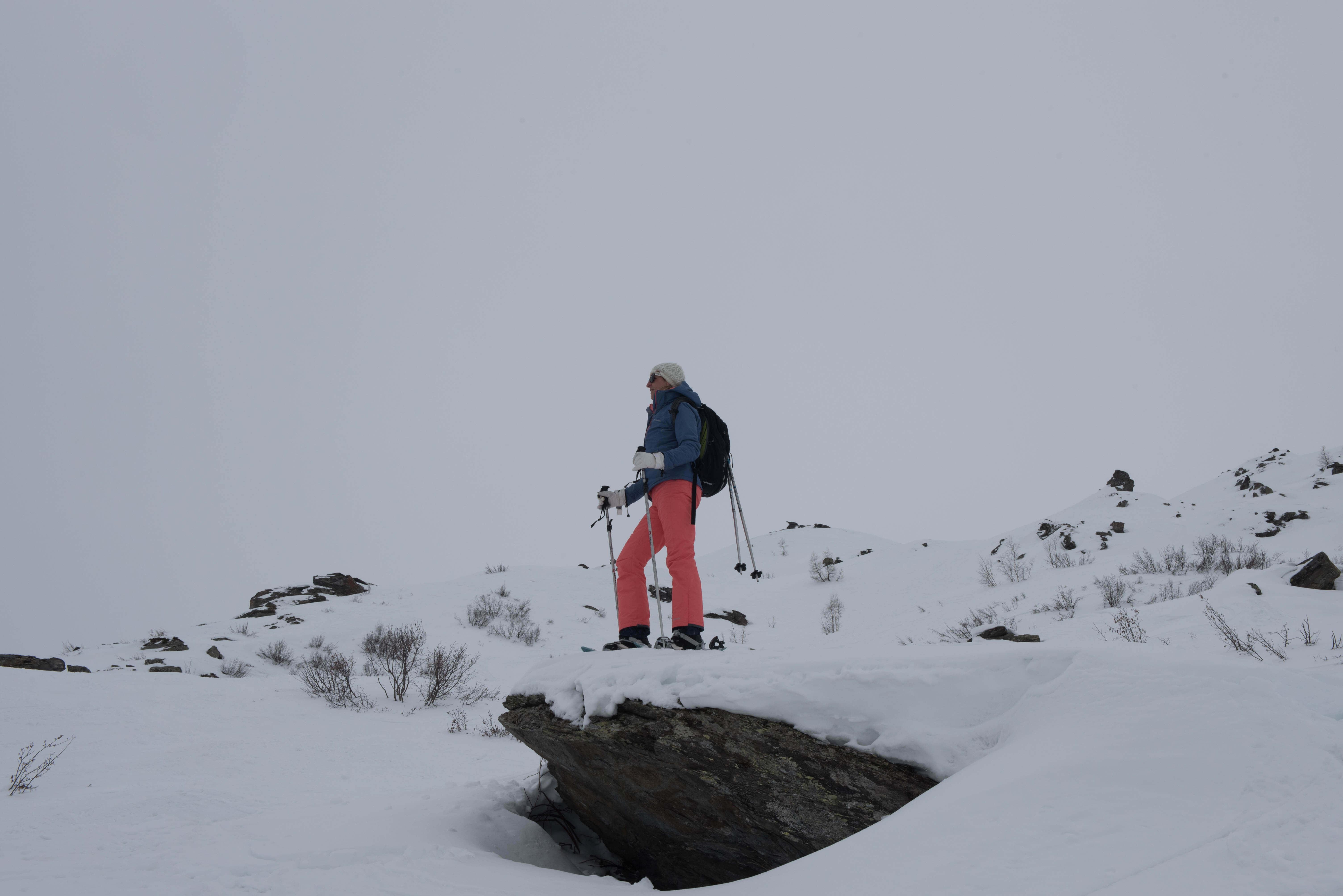 Sneeuwschoen wandeling naar Le Lac du Lou