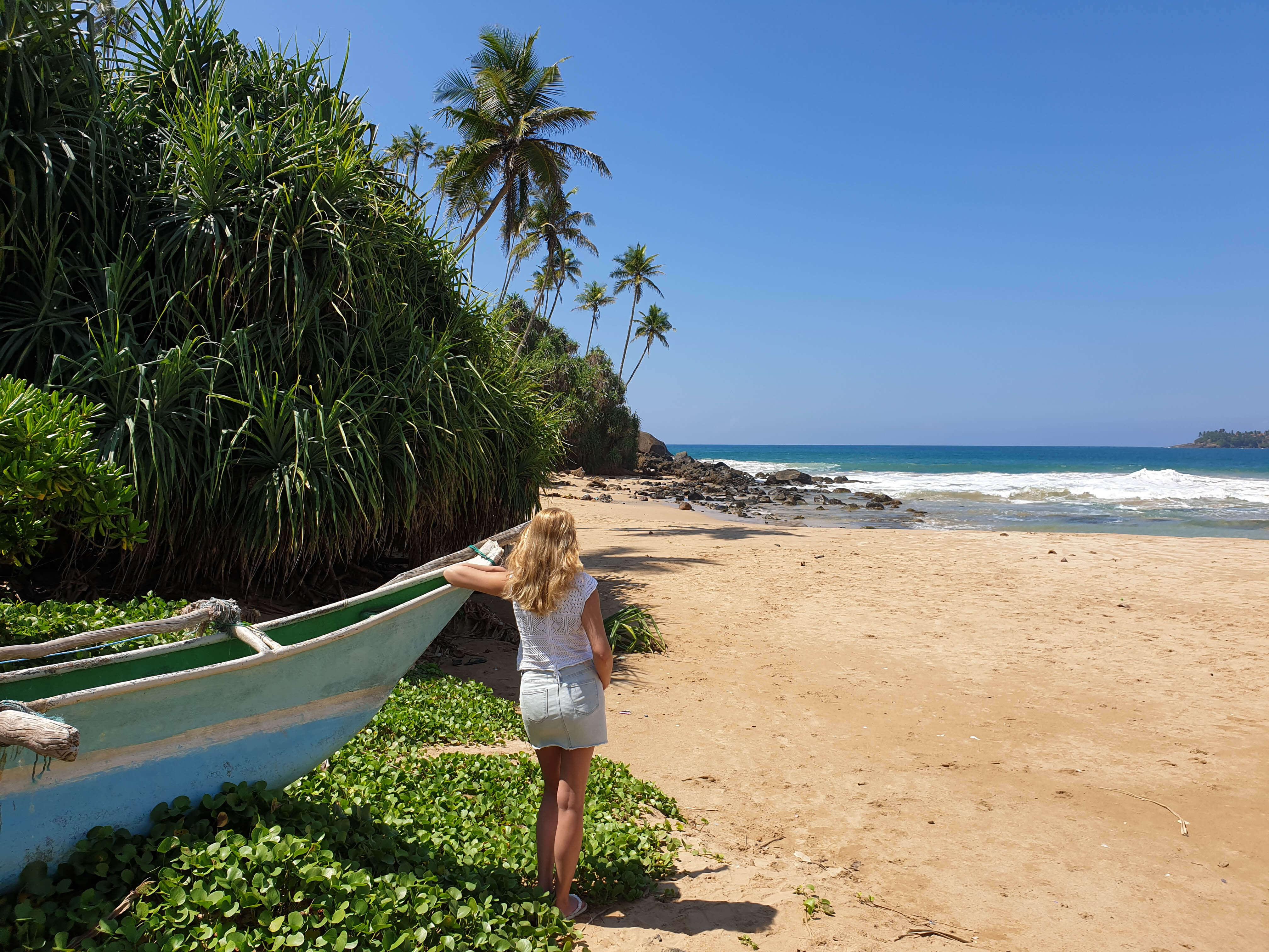 Mooie stranden Sri Lanka