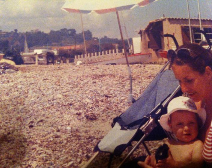 Met Mamma in Frankrijk