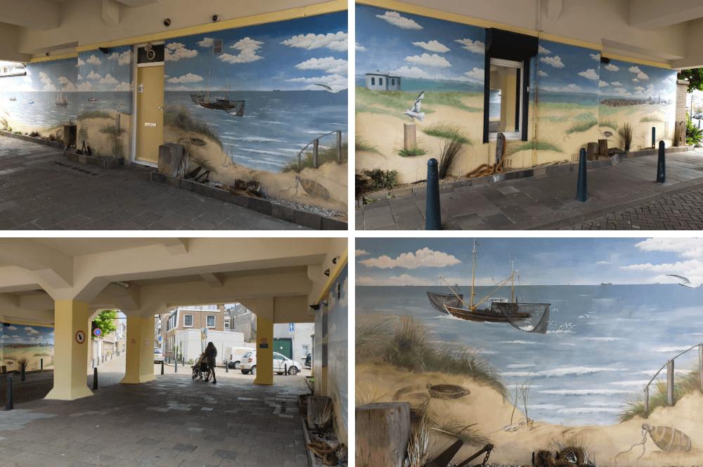 Mooie Street Art in Scheveningen