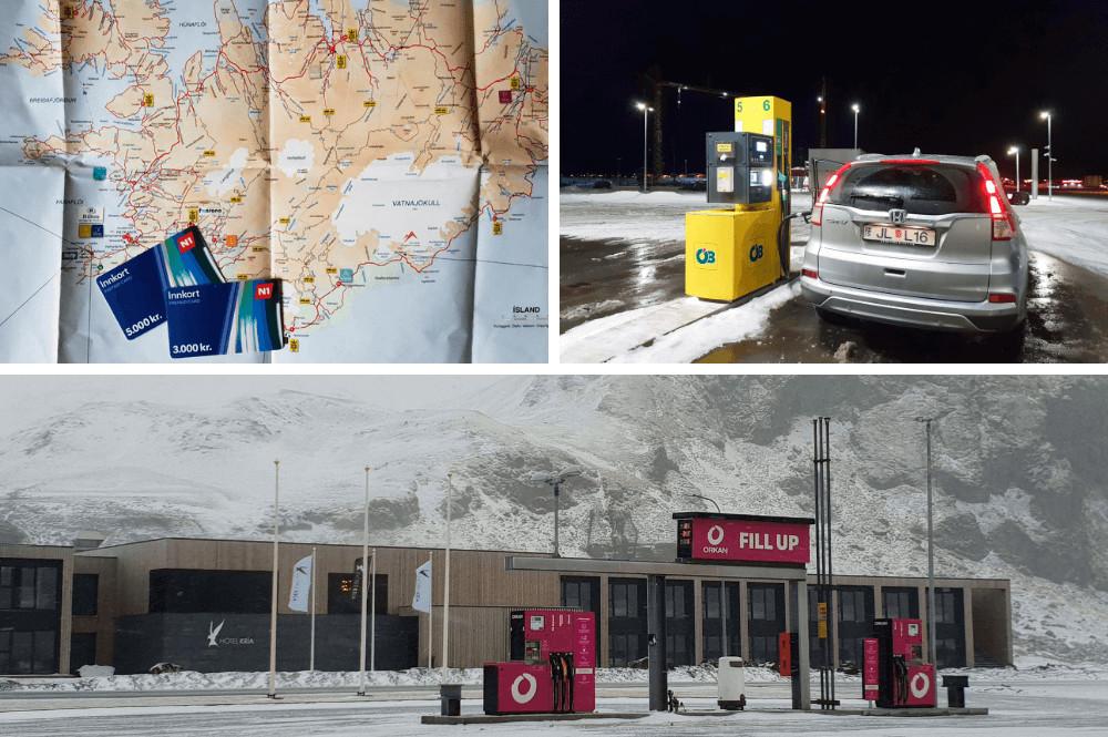 Tankstations IJsland