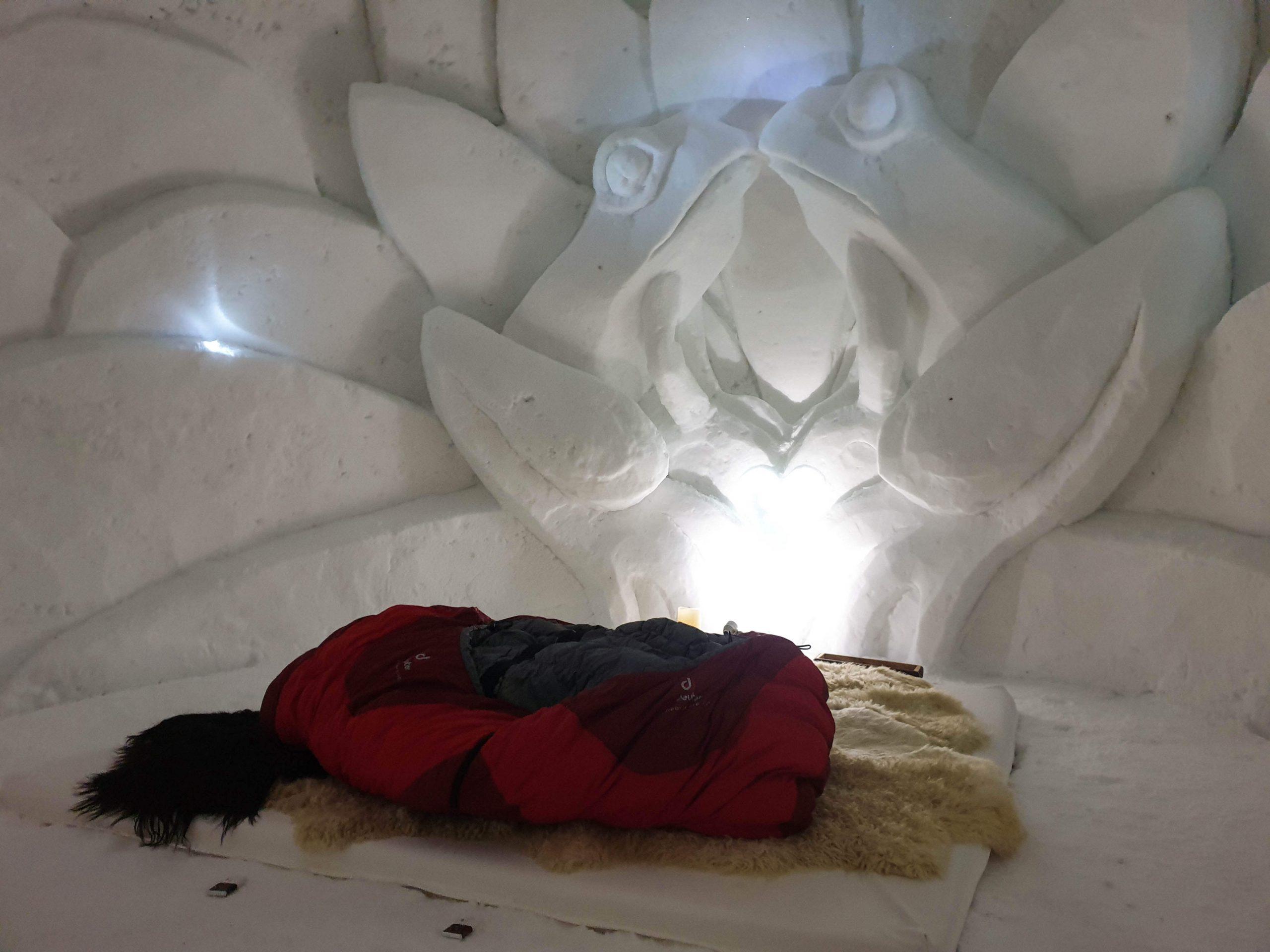 Tips voor slapen in een iglo