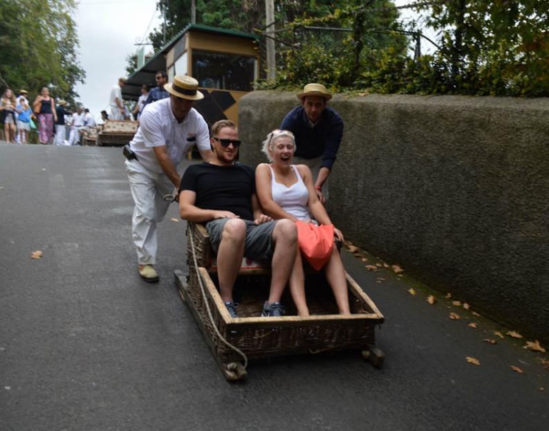 Madeira traditie; Monte Toboggan Run
