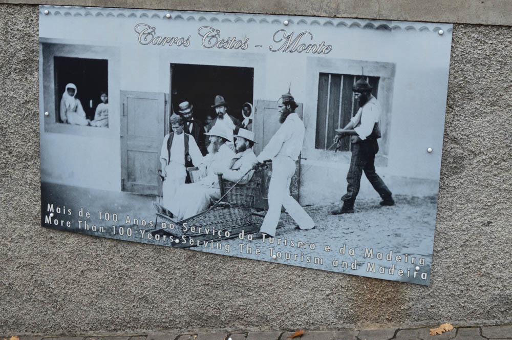 Toboggan traditie in Monte - Madeira