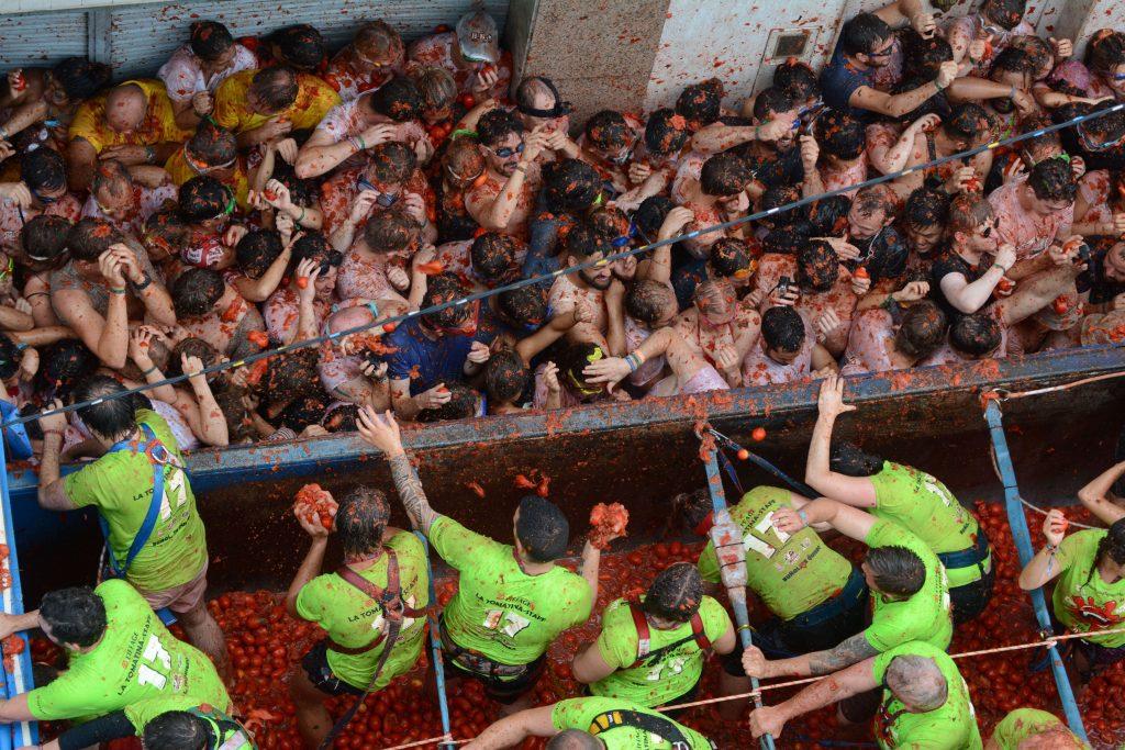 Tomaten oorlog - Spanje
