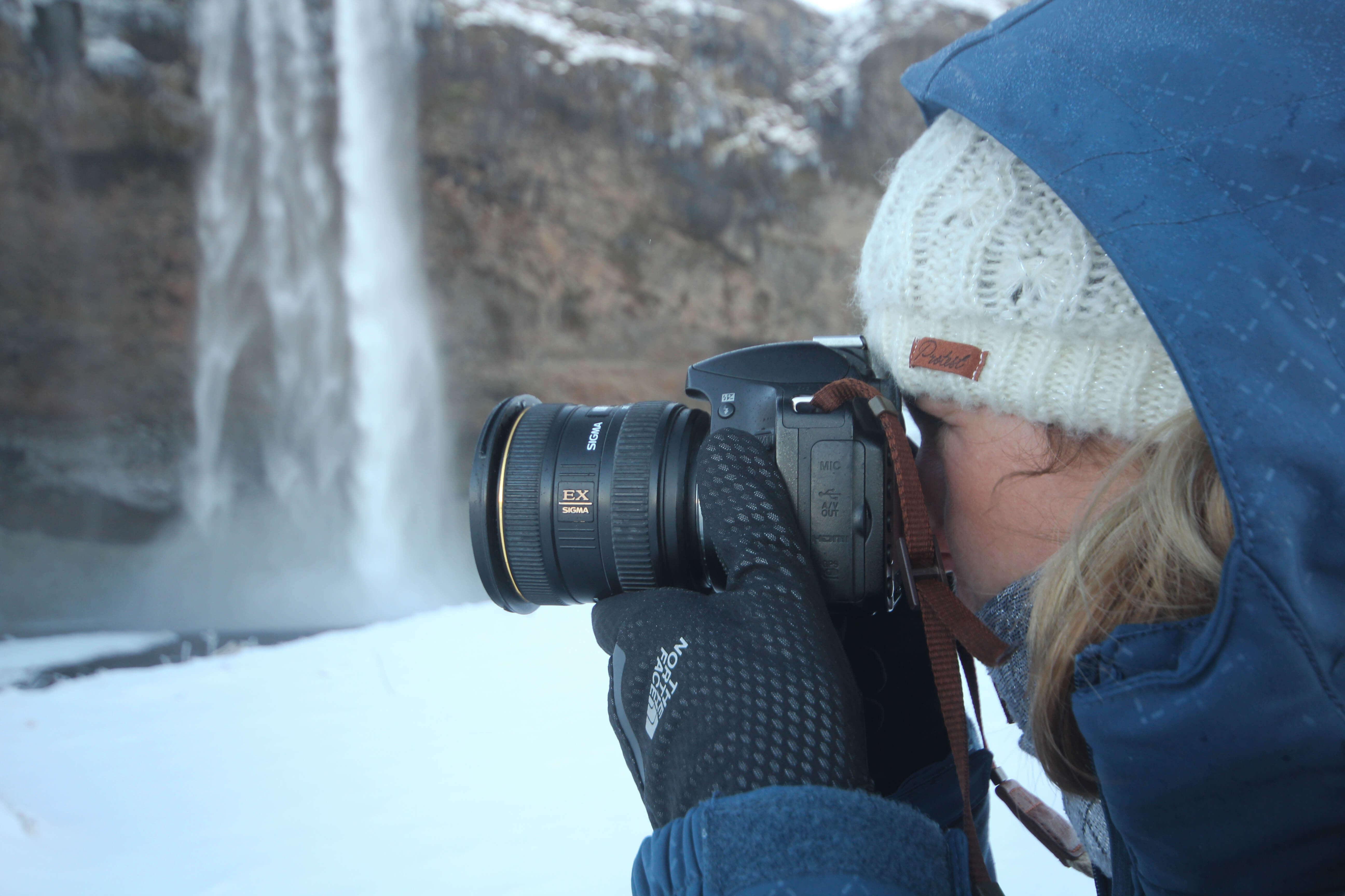 fotografie handschoenen voor de winter